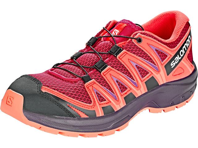 Salomon XA Pro 3D - Chaussures running Enfant - orange/rouge
